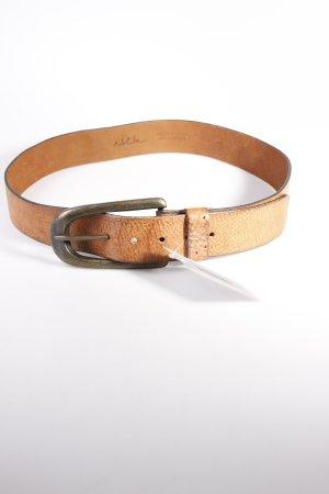 Nolita Ledergürtel braun Used-Optik