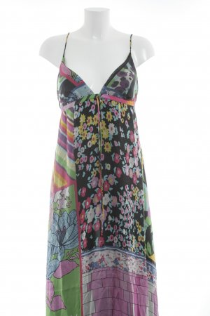 Nolita Maxikleid abstrakter Druck Beach-Look