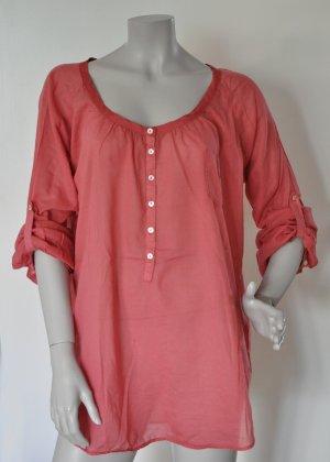Nolita Oversize Bluse berry Baumwolle ital. 46 (= deutsche Gr. 40) WIE NEU