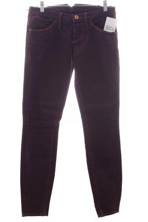 Nolita Slim Jeans dunkelviolett schlichter Stil