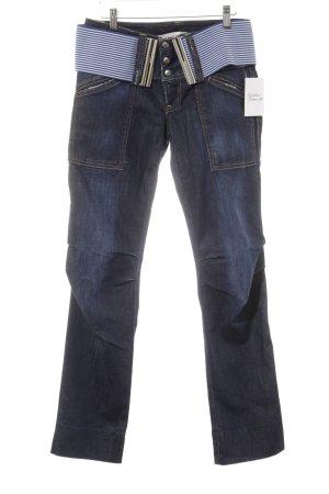 Nolita Straight-Leg Jeans Schriftzug gedruckt Casual-Look