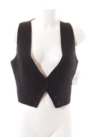 Nolita Strickweste schwarz Elegant