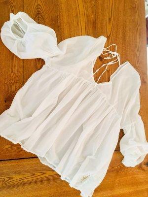Nolita: Tolle leichte weiße Bluse, M, neuwertig