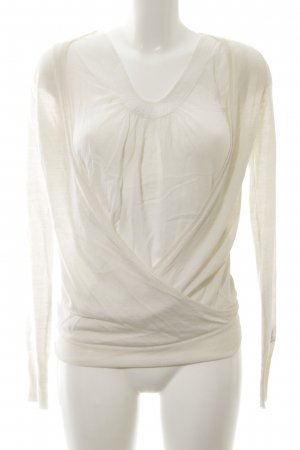 Nolita Wraparound Shirt white casual look