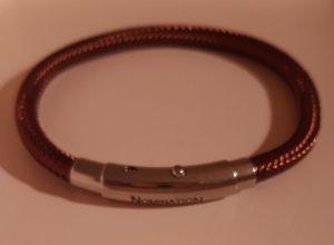 NOMINATION Armband braun