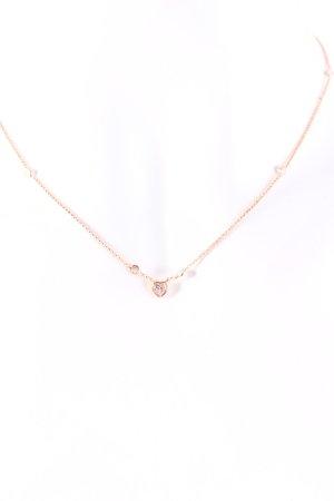 Nomination Halskette roségoldfarben-silberfarben Elegant