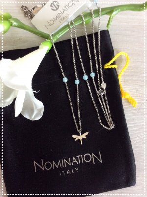Nomination Kette, Silber, lang *NEU*