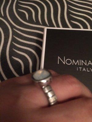 Nomination Ring mit einem Mondstein