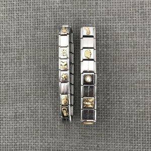 NOMINATION Sammel-Armbänder aus Italien, Mix & Match