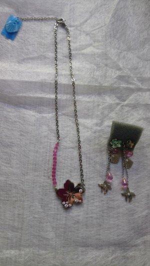 NOMINATION Schmuckset Halskette und Ohrringe