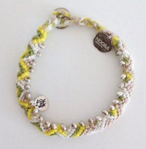 Noosa Armband Alpaka Wolle Ethno Peru Hippie Boho Style Perlen Blogger
