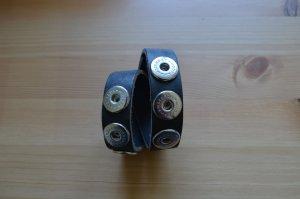 Noosa Armband, Wrap Bracelet Double Skinny (Mochaca, Endless Snake)