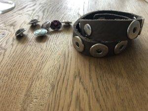 Noosa Leather Bracelet bronze-colored leather