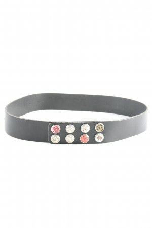 Noosa Leather Belt black casual look