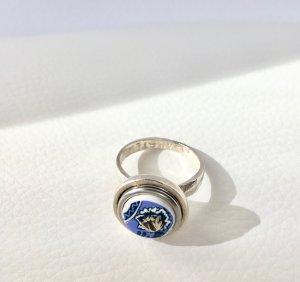 """""""Noosa - Ring, 925er Silber, auswechselbarer Topper, Gr. 54/17,3mm (NP 99.-)"""