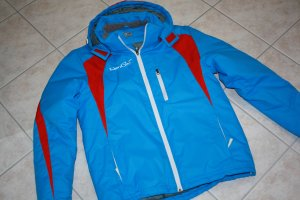 Sports Jacket neon blue-red