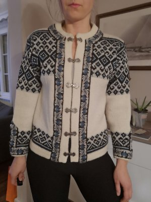 Knitted Sweater white-blue