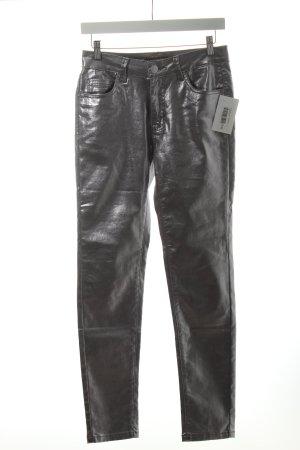 Norfy Slim Jeans silberfarben Casual-Look