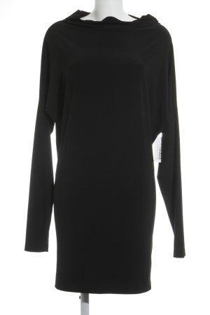 Norma Kamali Langarmkleid schwarz Elegant