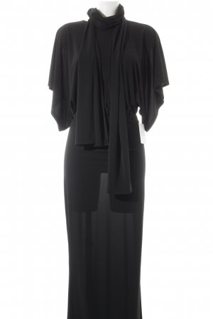 Norma Kamali Maxi Dress black elegant
