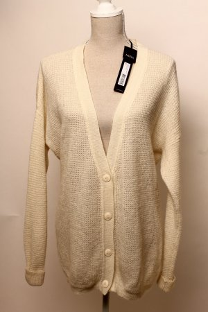 Coarse Knitted Jacket natural white-white