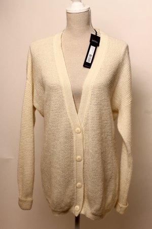 * Norr * Strickjacke Cardigan Jacke XL 40 42 Wolle Mohair oversize look