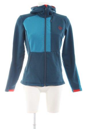 Norrona Fleecejacke blau sportlicher Stil