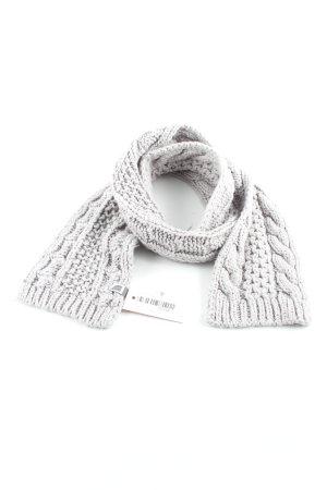 North Face Crochet Scarf grey casual look