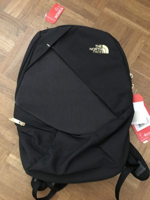 The North Face Trekking Backpack black-gold-colored