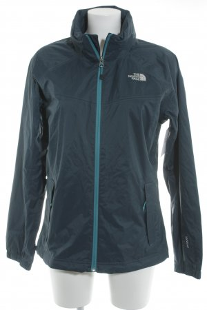 North Face Windbreaker petrol casual look