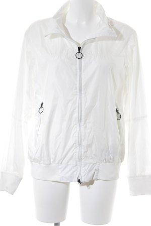 North sails Regenjacke weiß sportlicher Stil