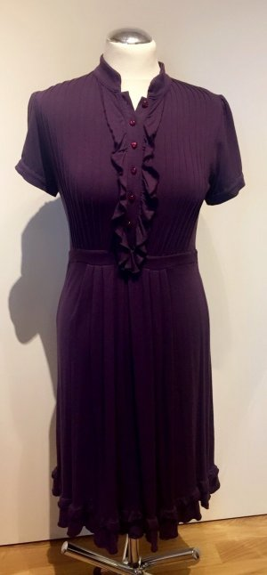 Northland: Figurbetontes Kleid mit schwingenden Rock Lila Gr. M/L