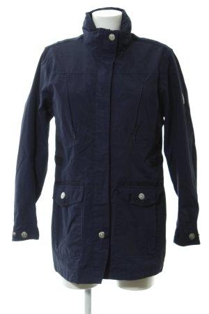 Northland Regenjacke dunkelblau-silberfarben Segel-Look
