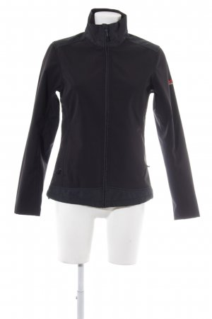 Northland Softshelljacke schwarz Neopren-Optik