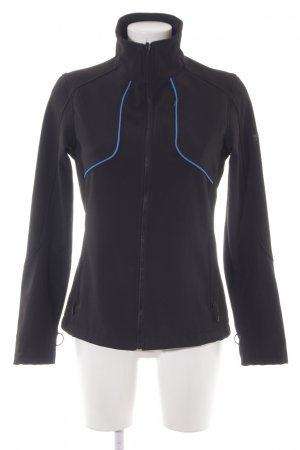 Northland Softshelljacke schwarz-stahlblau sportlicher Stil