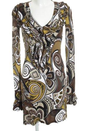 Northland Vestido elástico estampado con diseño abstracto look casual
