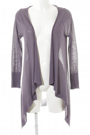 Northland Strick Cardigan grauviolett Casual-Look