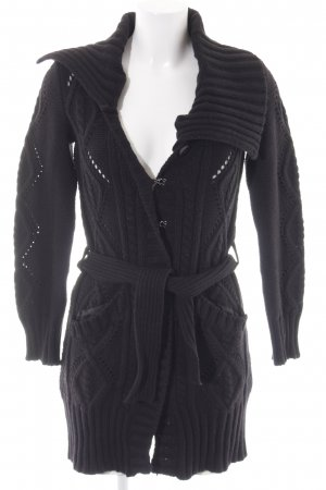 Northland Cardigan black casual look