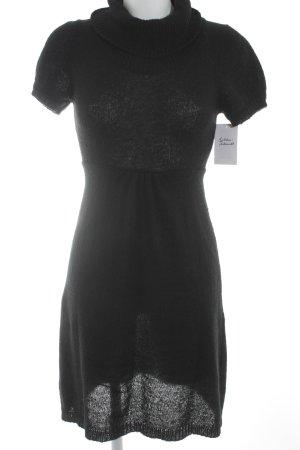 Northland Strickkleid schwarz schlichter Stil