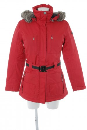 Northland Winterjacke rot Street-Fashion-Look