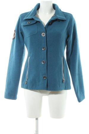 Northland Wollmantel kadettblau schlichter Stil