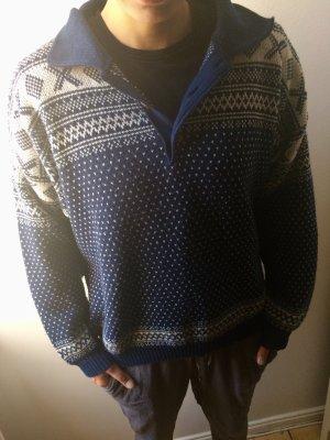 Norweger Pullover/Wollpullover, Oversized, Gr. XL