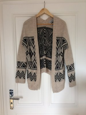 Norweger Strickcardigan Grobstrick