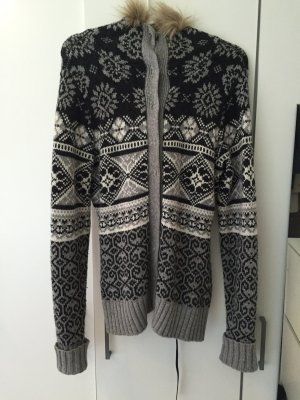 H&M Norwegian Cardigan grey