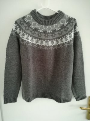 MNG Pull norvégien multicolore