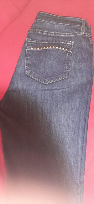 not your daughters jeans Stretch jeans donkerblauw Katoen