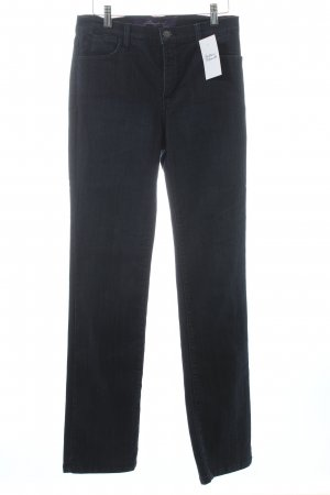 not your daughters jeans Straight-Leg Jeans dunkelblau Business-Look