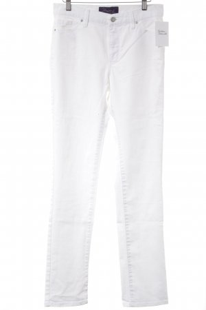 not your daughters jeans Straight-Leg Jeans weiß Casual-Look