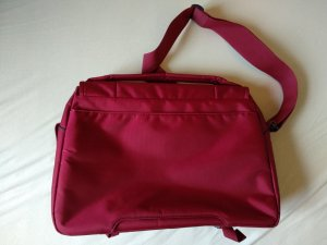 Samsonite Laptop bag dark red