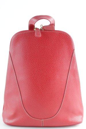 Zaino laptop rosso scuro elegante